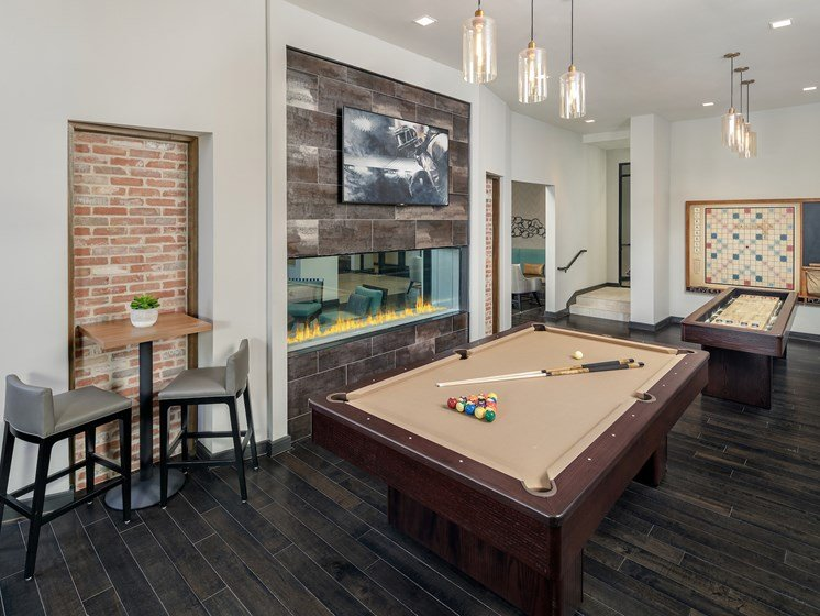 Game Room at The Baldwin at St. Paul Square, Texas