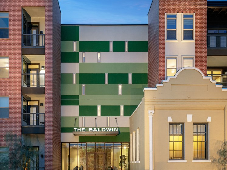 Beautiful Brick Construction at The Baldwin at St. Paul Square, San Antonio, 78205