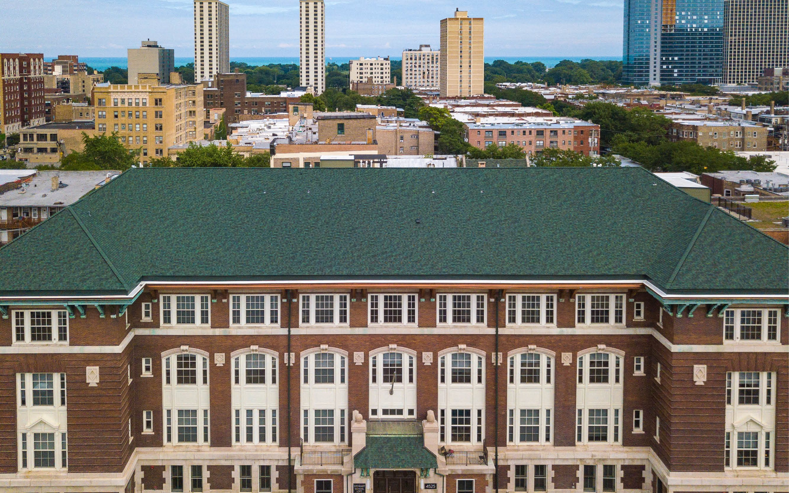 Stewart School Lofts Apartments In Chicago Il