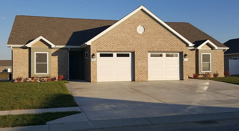 Private Garage Available at Regency Preserve, Avon, Indiana