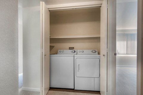 Copper Canyon In-Home Washer and Dryer