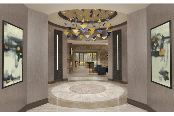 Rendering-Clubhouse Entry