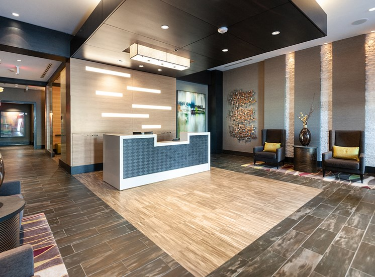 Northgate's lobby and concierge desk