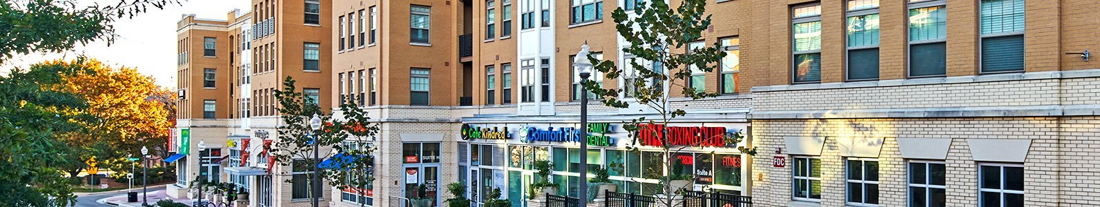 Northgate is centrally located to Arlington, Washington D.C., and features shops and services on the ground floor