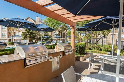 The Estates at Tanglewood|Grilling Station