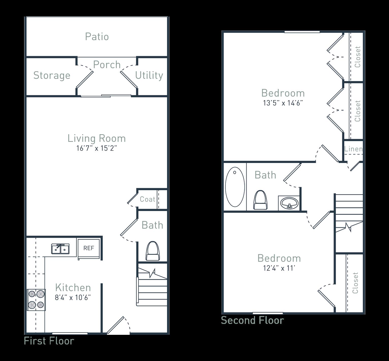 B2 Floor Plan 4