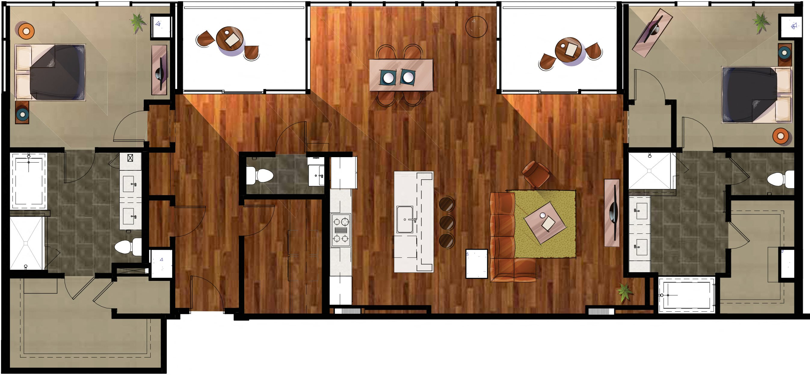 P3 - Penthouse Apartment