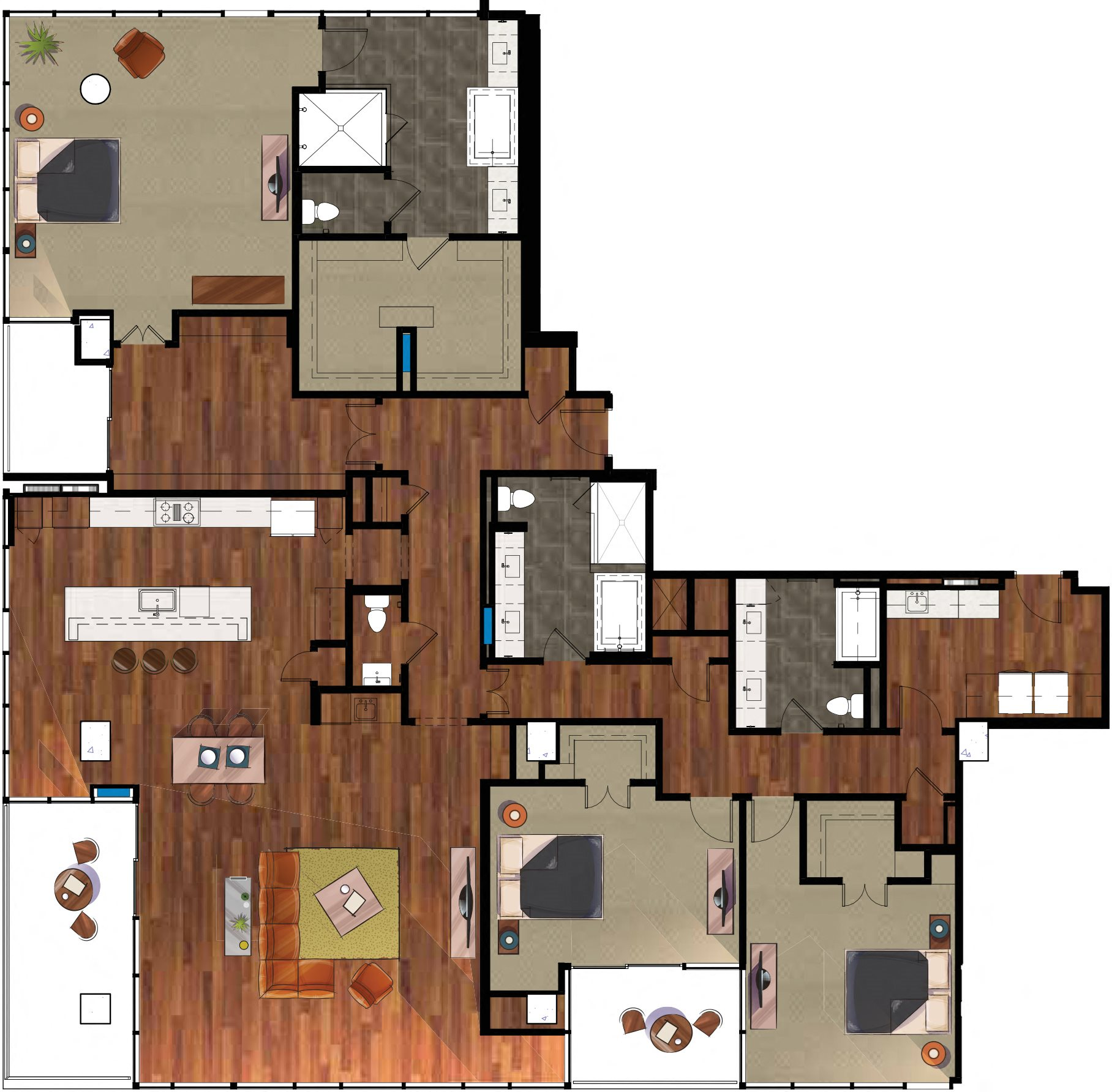 P9 Penthouse Apartment