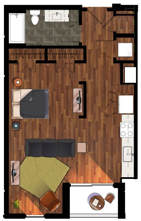 S3 Studio Apartment