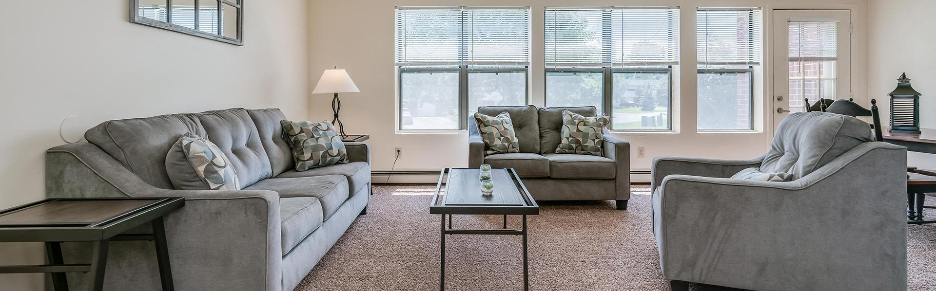 Parkstead Watertown at City Center living room image