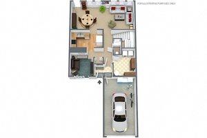 3 BEDROOM-2.5 BATH TOWNHOUSE
