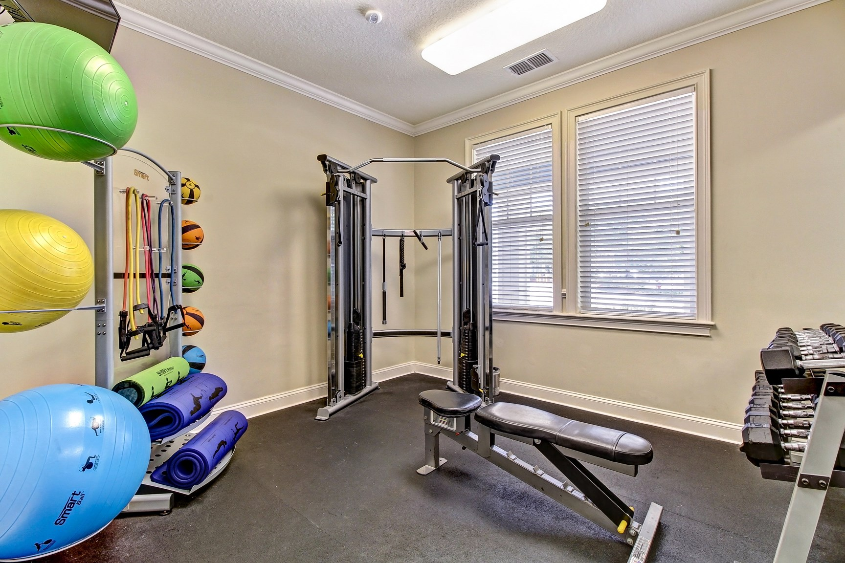 Fitness Center at Magnolia Village Apartments in Jacksonville, FL