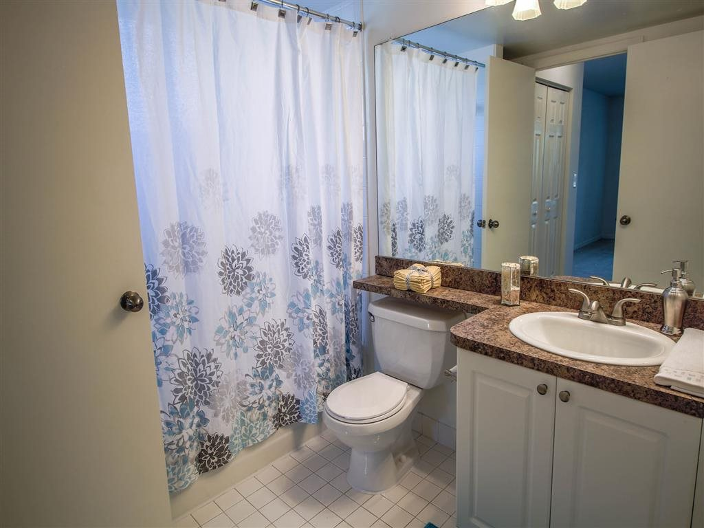 Spacious Bathrooms at Coconut Palm Club Apartments, NW 55th Blvd., Coconut Creek, FL 33073