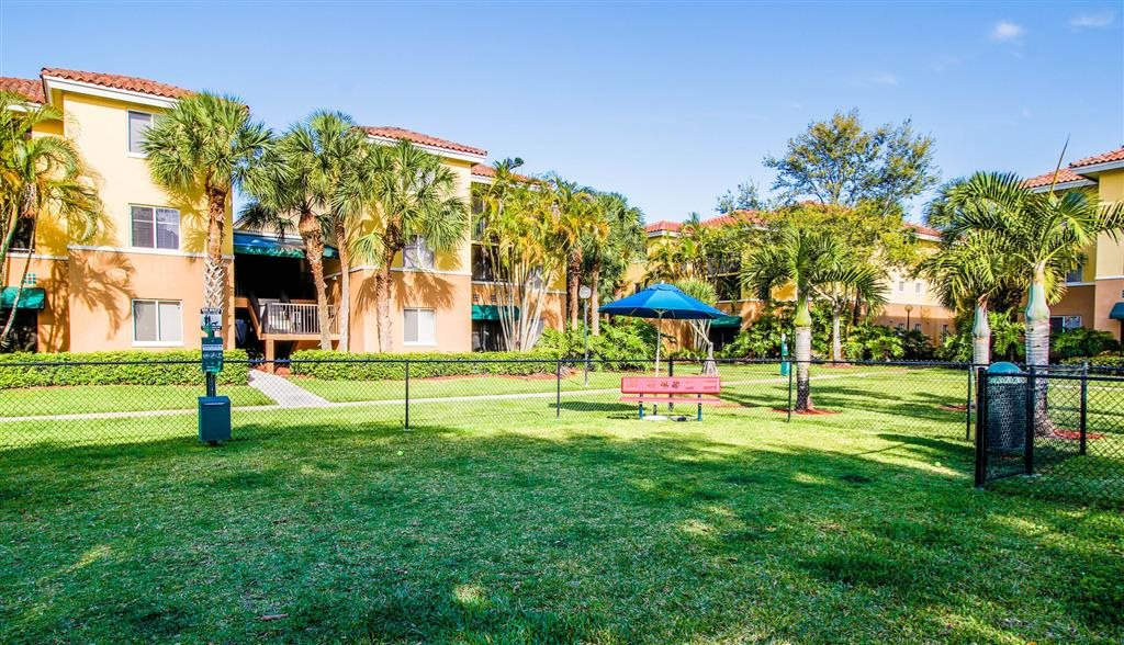 Coconut Palm Club Apartments, NW 55th Blvd., Coconut Creek, FL 33073 is a Pet Friendly Community With Bark Park