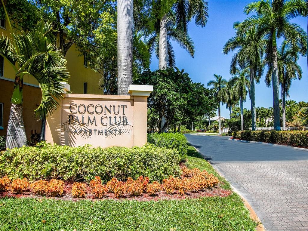 Access Controlled Community at Coconut Palm Club Apartments, 5400 NW 55th Blvd., Coconut Creek, FL 33073