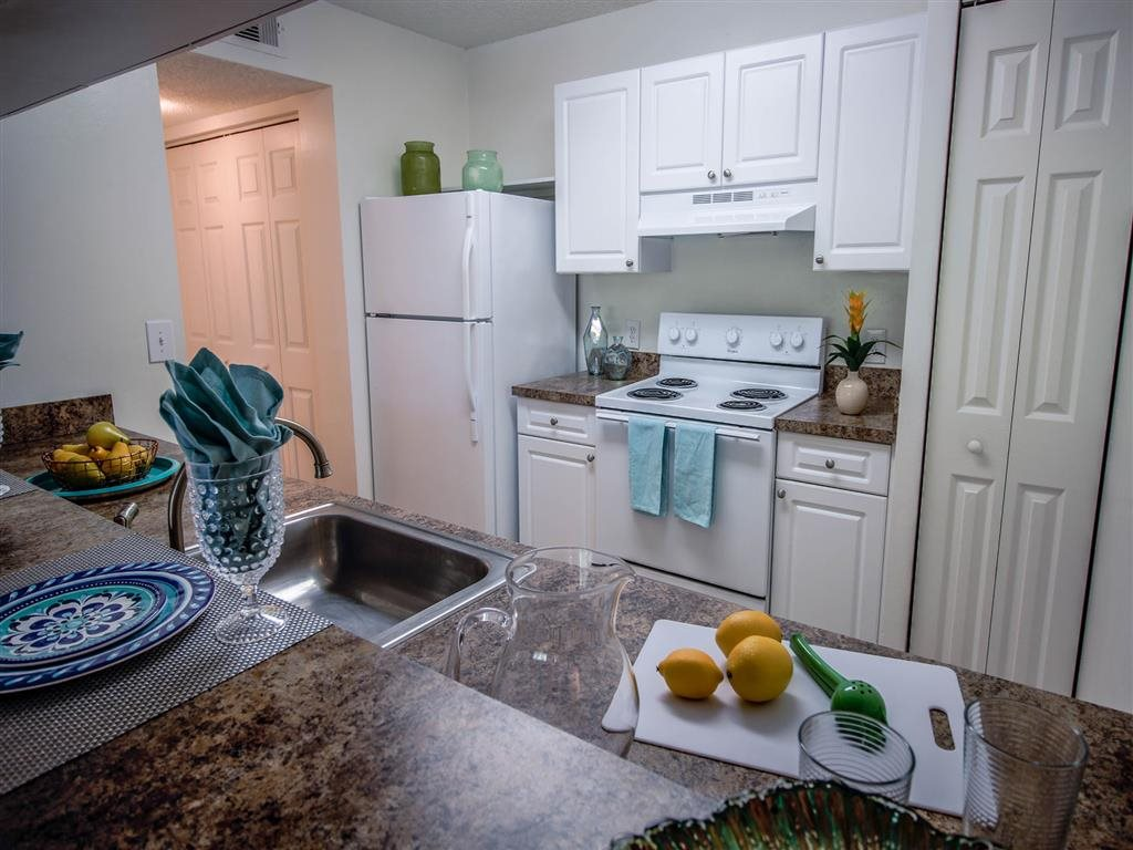 Gourmet Kitchens with Dishwasher and Disposal at Coconut Palm Club Apartments, Coconut Creek, 33073