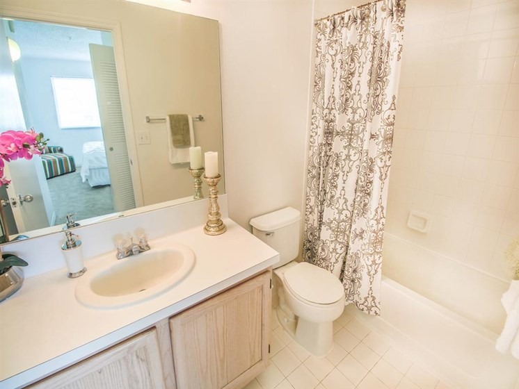 The Enclave Apartments| Bathroom