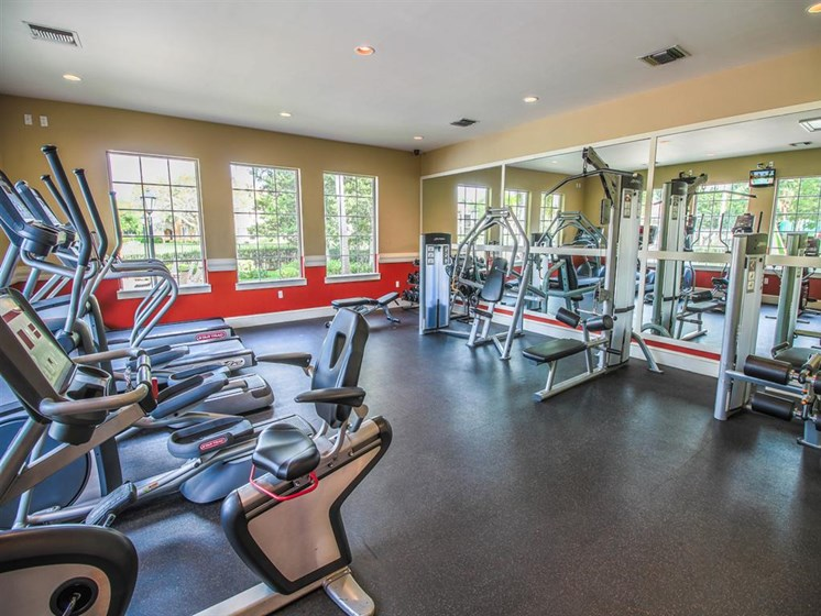 The Enclave Apartments| Fitness Center