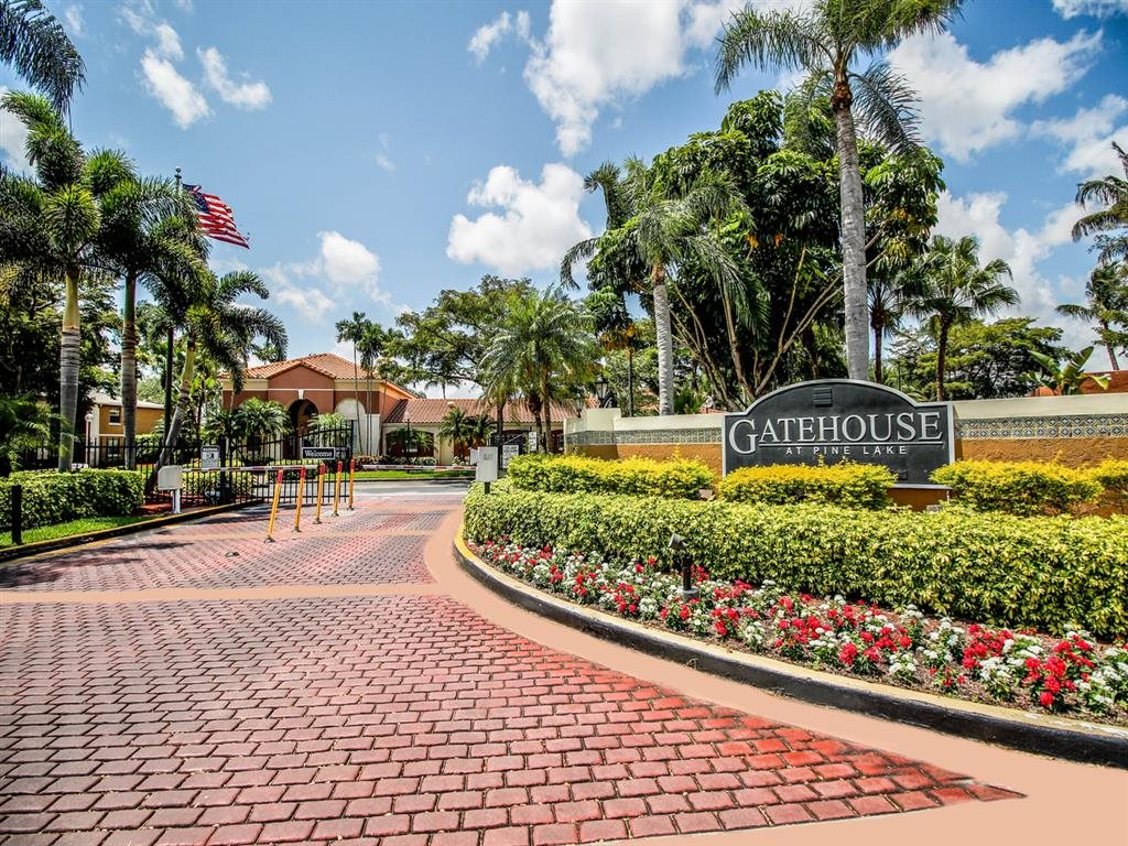 Beautiful Surroundings at Gatehouse at Pinelake, Pembroke Pines, FL, 33025