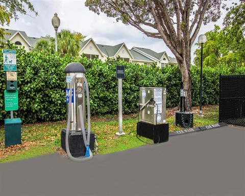 Charging Station at Hammocks Place Apartments, 15280 SW 104th St, Miami, 33196