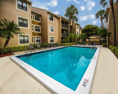 Resort-Style Pool at Hammocks Place Apartments, 15280 SW 104th St, Miami, FL 33196