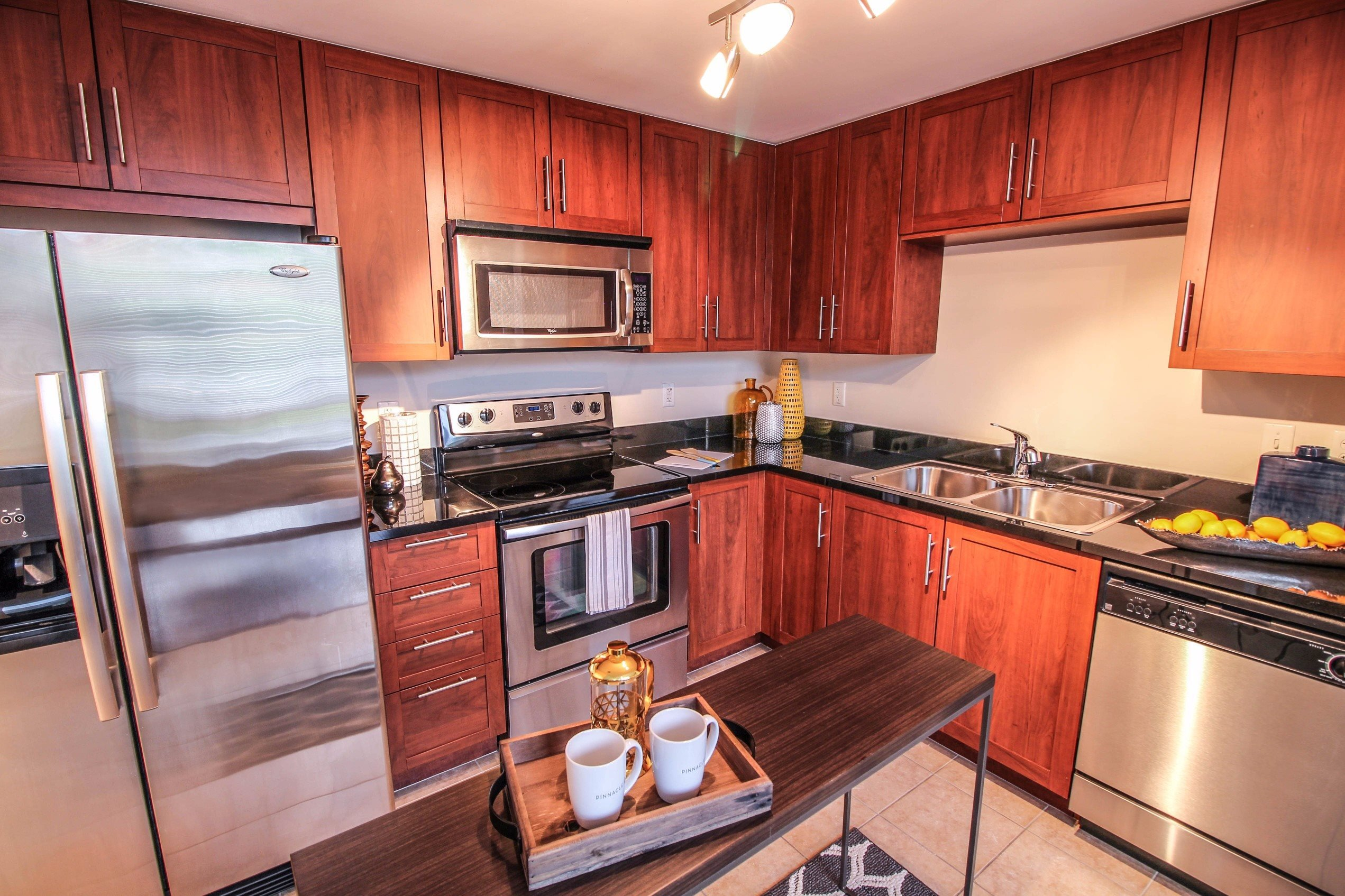 Midtown 24 Fully Equipped  Kitchen