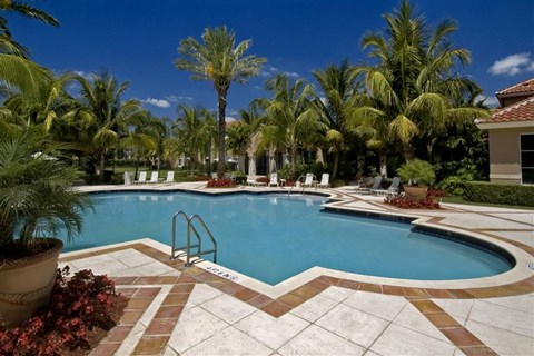 Outdoor Sparkling Pool at Miramar Lakes, Miramar, FL,33025