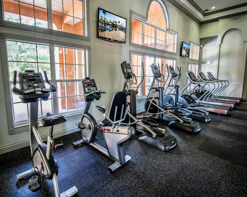 24-Hour Fitness Center at New River Cove Apartments, 3711 State Road 84, Davie, FL