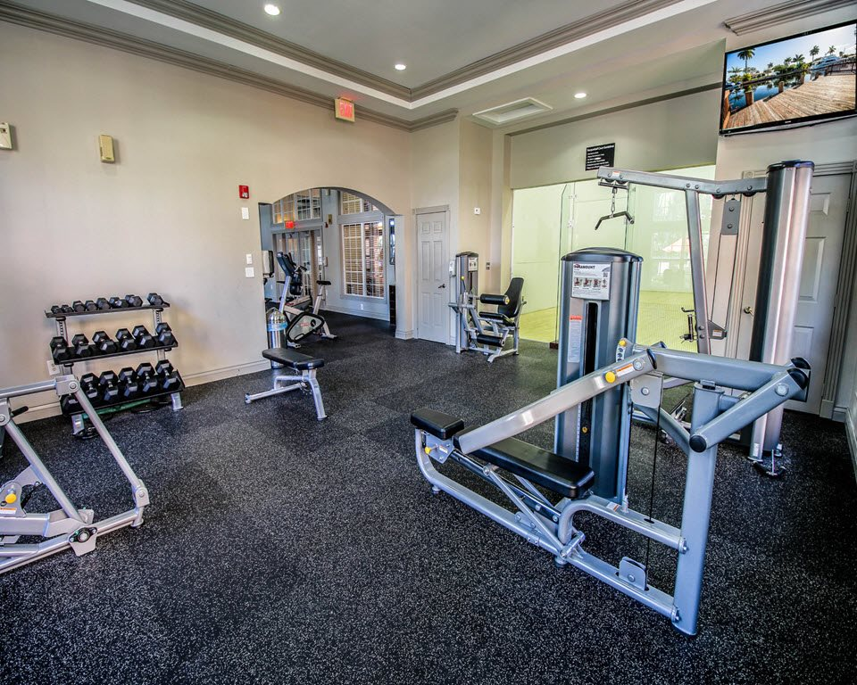 24-Hour Fitness Center at New River Cove Apartments, 3711 State Road 84, Davie, 33312