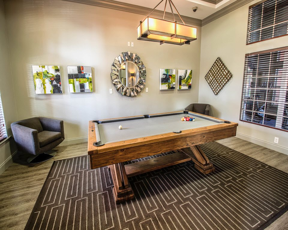 Billiards Table at New River Cove Apartments, 3711 State Road 84, Davie, 33312