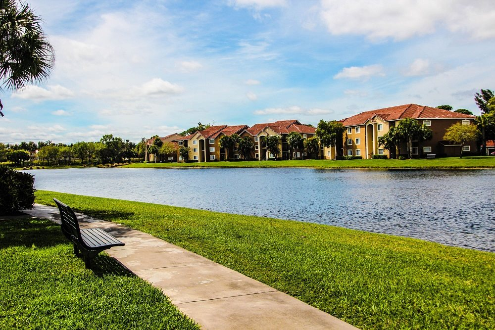 Walking Trails Beside the Community at Oasis Delray Apartments, 5600 W. Atlantic Ave., 33484
