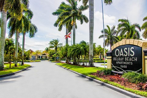 Access Controlled Community at Oasis Delray Apartments, 5600 W. Atlantic Ave., FL