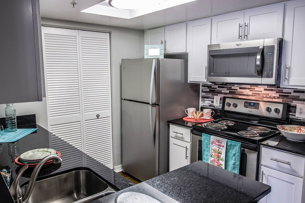 Stainless Steel Appliances at Oasis Delray Apartments, 5600 W. Atlantic Ave., FL 33484