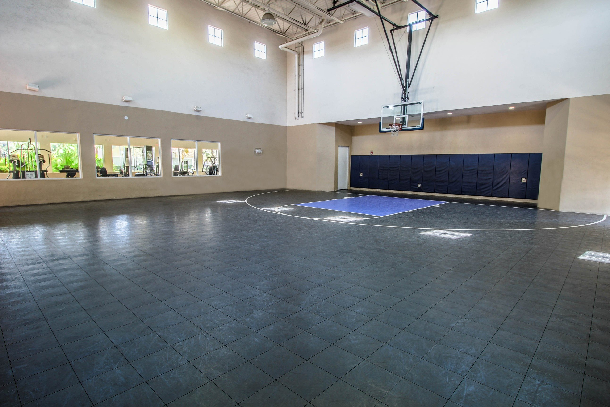 Palm Trees Landing|Indoor Basketball Court