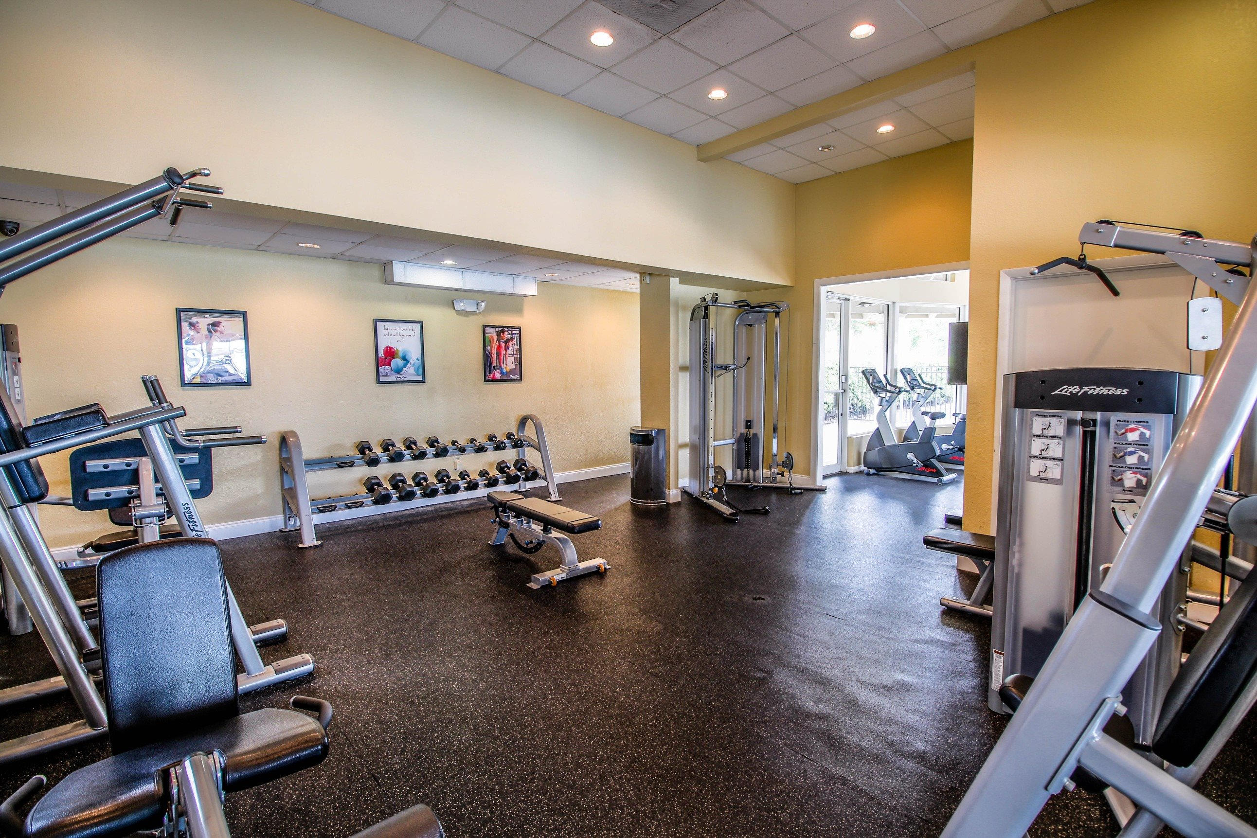 Palm Trees Landing|Fitness Center