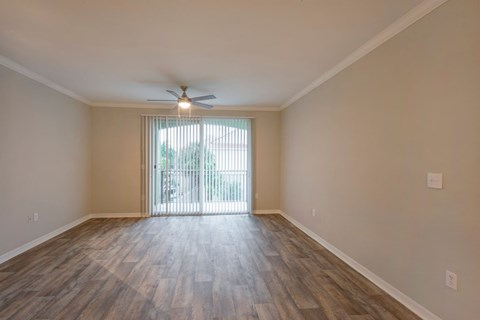 The Park at Turtle Run  Living Room with Hardwood Style Flooring