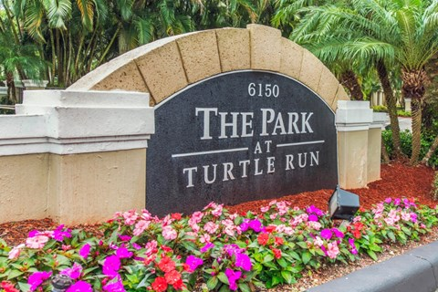 The Park at Turtle Run|Entrance