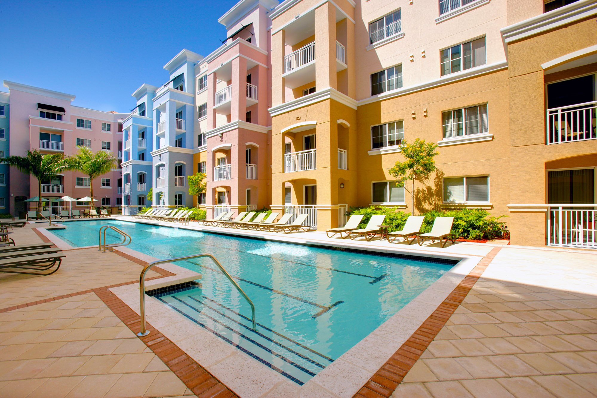 Red Road Commons Student Living Miami Heated Pool