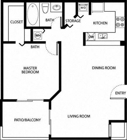 Sheridan Ocean Club Apartments Bimini Floorplan
