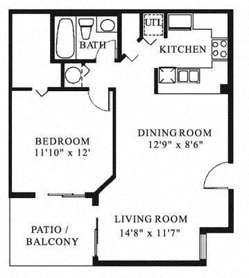 Sheridan Ocean Club Apartments   Barcelona Floor Plan