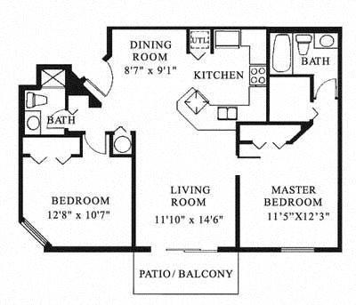 Sheridan Ocean Club Apartments   Costa Del Sol Floor Plan