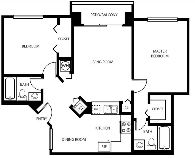 Sheridan Ocean Club Apartment Barbados Floorplan