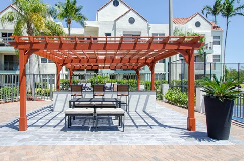 Outdoor Bar and Kitchen Area|Sheridan Ocean Club
