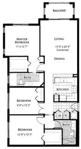 Orchid Floor Plan | St. Andrews