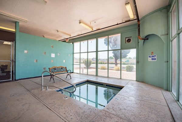 Indoor Hot Tub at Desert Creek, Albuquerque, 87107