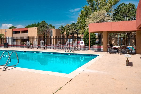 Pool Cabana & Outdoor Entertainment Bar at Desert Creek, Albuquerque, NM