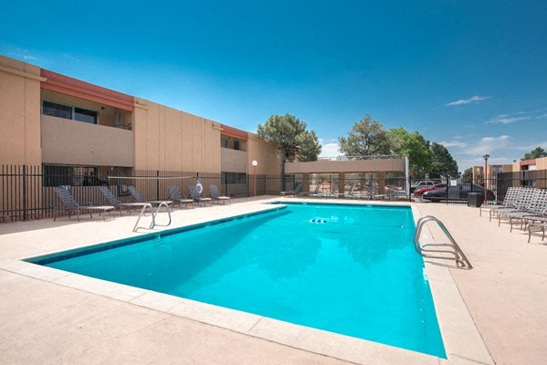 Resort-Style Pool at Desert Creek, New Mexico