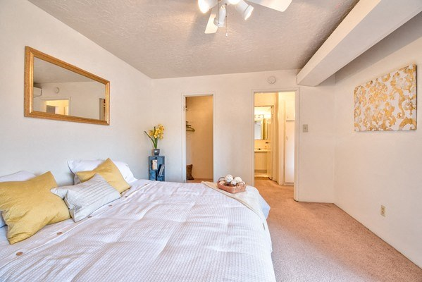 King Sized Bedrooms with Attached Bath at Desert Creek, Albuquerque