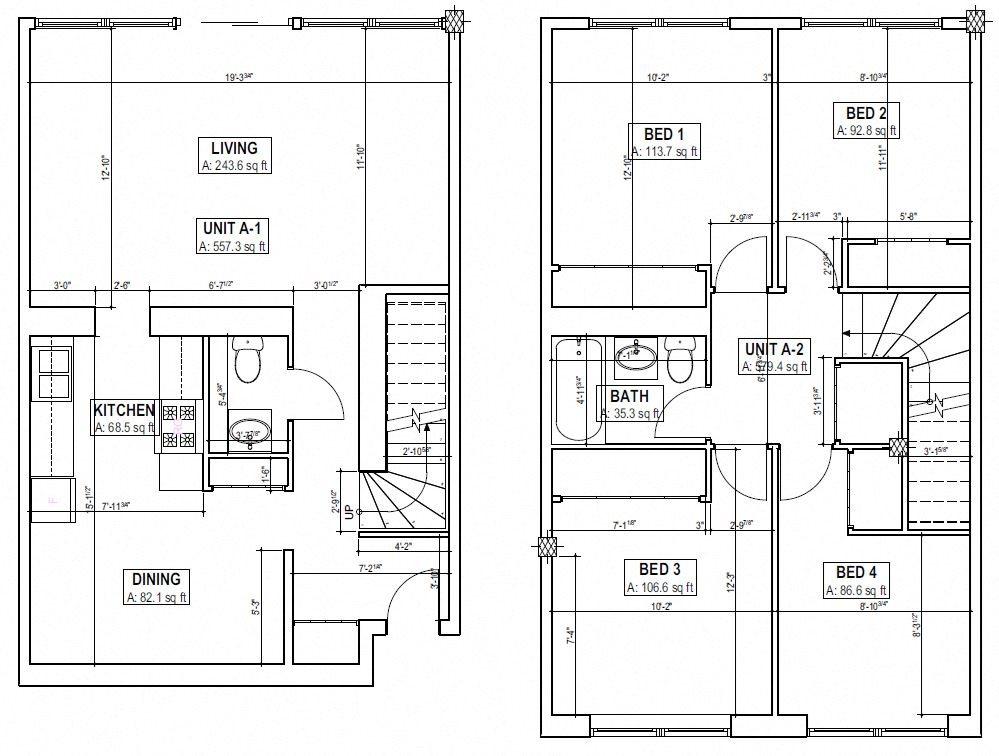 Four Bedroom Floor Plan 5