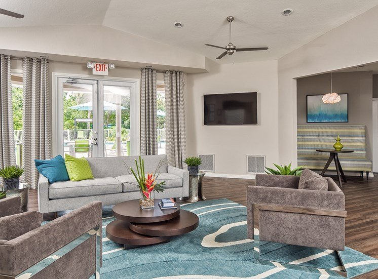 Resident Lounge The Terraces at Lake Mary Apartment Homes, Florida